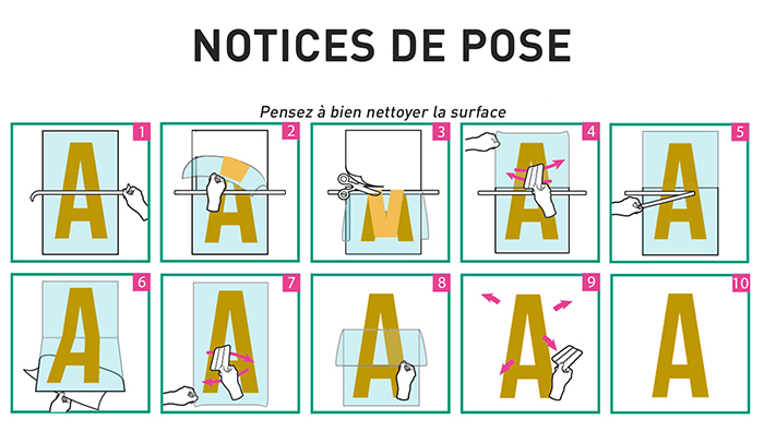 notice de pose deco idée