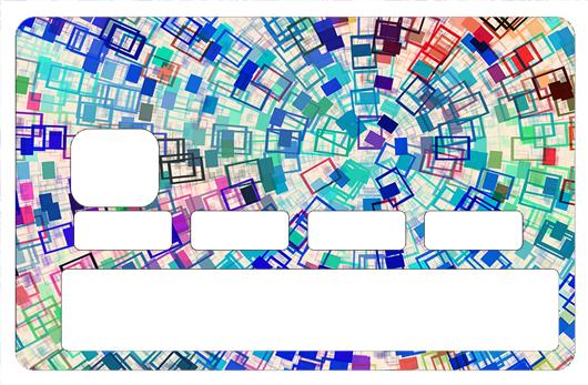Sticker pour carte bancaire, Color