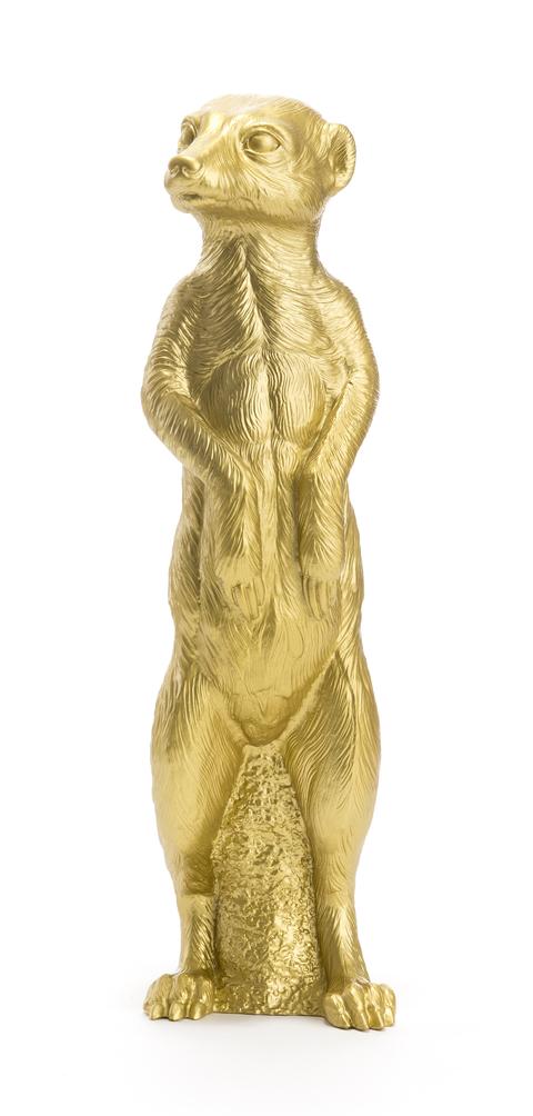 le Suricate debout, Gold