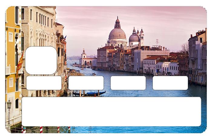 Sticker pour carte bancaire, Venise