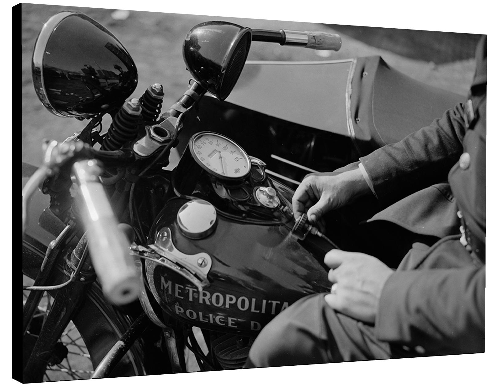 Photo sur toile - Harley Davidson Police 1938