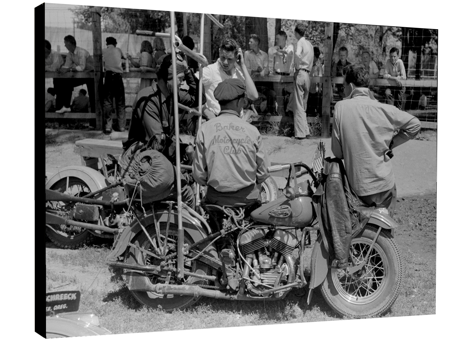 Baker Motorcycle Club 1938