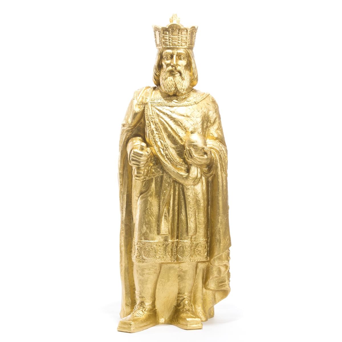 Sculpture Charlemagne, H. 110 cm , de Ottmar Horl