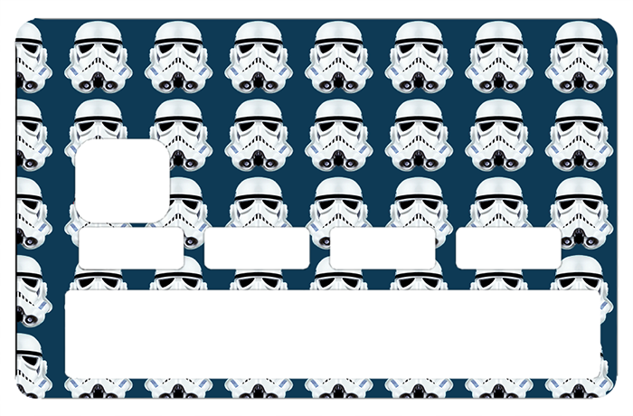 Sticker pour carte bancaire, Tribute to Stormtrooper 8