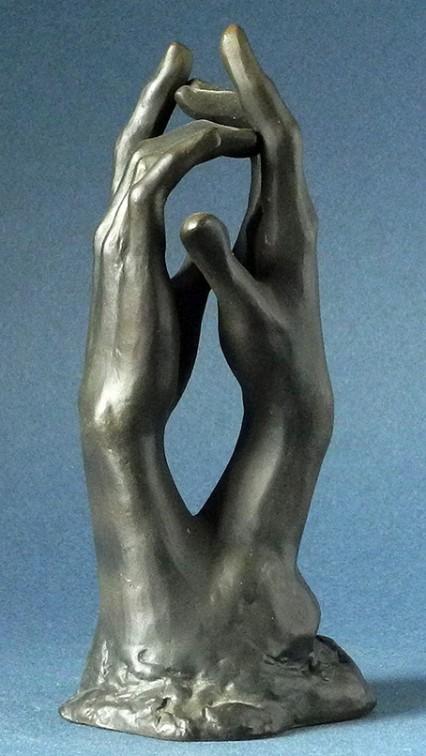 Le secret de Rodin, H. 14 cm