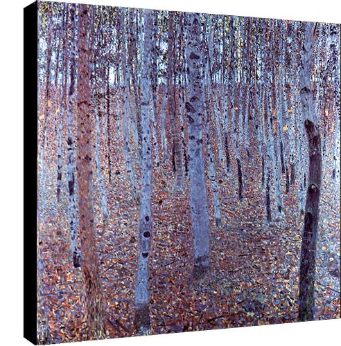 Haut Bois par Gustav Klimt , Dim: 70 cm x 70 cm