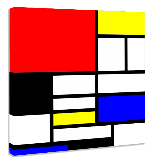 Photo sur toile - l\'esprit de Mondrian