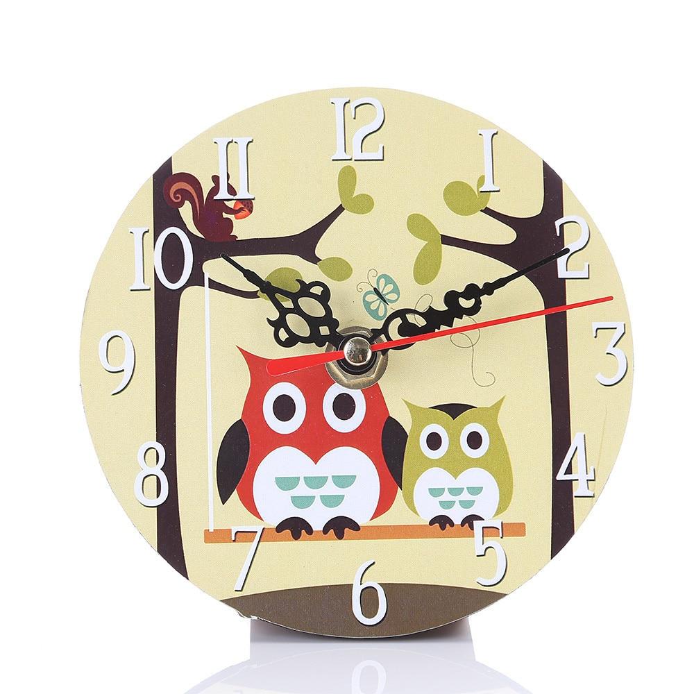 38f3a19c290 Horloge murale, les chouettes - Ambiance interieure/Horloge, reveil ...