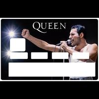 Sticker pour carte bancaire, Freddie Mercury & QUEEN