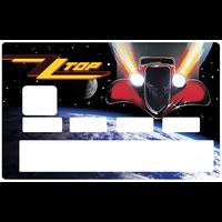 Sticker pour carte bancaire, ZZ TOP