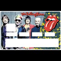 Sticker pour carte bancaire, The Rolling Stones