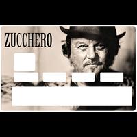Sticker pour carte bancaire, ZUCCHERO, limited edition 100 ex.