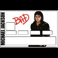 Sticker pour carte bancaire, Michael Jackson