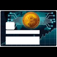 Bitcoin, Sticker pour carte bancaire type ELECTRON