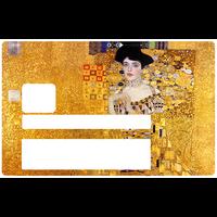 Klimt, Adéle Bloch, Sticker pour carte bancaire type ELECTRON