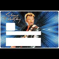 Johnny Hallyday, Sticker pour carte bancaire type ELECTRON