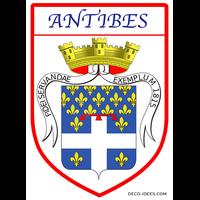 Sticker Blason de ville ANTIBES