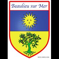 Sticker Blason de ville BEAULIEU SUR MER