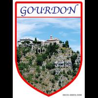 Blason de  ville GOURDON