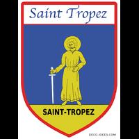 Sticker Blason de ville SAINT TROPEZ
