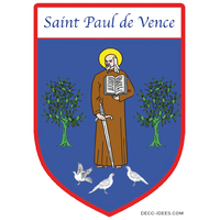 Sticker Blason de ville SAINT PAUL DE VENCE