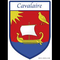 Sticker Blason de ville CAVALAIRE