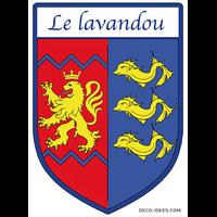 Sticker Blason de ville LE LAVANDOU