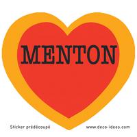 Sticker Le Coeur de MENTON