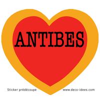 Sticker LE COEUR D'ANTIBES