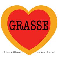 Sticker Le Coeur de GRASSE