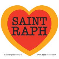 Sticker Le Coeur de SAINT RAPH