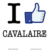 Sticker I LIKE CAVALAIRE
