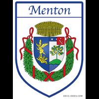 Sticker Blason de ville MENTON