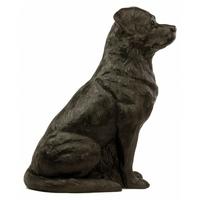 statue chien rottweiler de ottmar ho rl. Black Bedroom Furniture Sets. Home Design Ideas