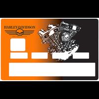 Sticker pour carte bancaire, Harley davidson,Edition limitée 100 ex