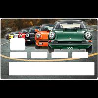 Sticker pour carte bancaire, Porsche 911 collection