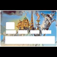 Sticker pour carte bancaire, Hommage à DALI