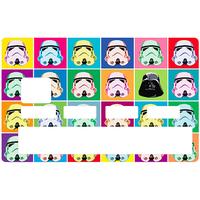 Sticker pour carte bancaire, hommage aux Stormtrooper