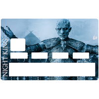 Sticker pour carte bancaire, The Night King - Game of Thrones, Edition limitée 300 ex.