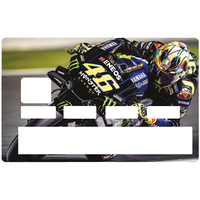 Sticker pour carte bancaire, Moto grand prix