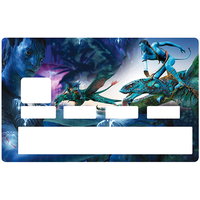 Sticker pour carte bancaire, AVATAR