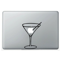 Sticker, autocollant décoratif,  Cocktail, pour MacBook ou Ipad