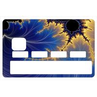 Stickers décoratif pour carte bancaire, Orion