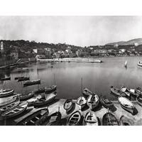 Impression photo sur toile,  la baie de St Jean Cap Ferrat avant le port vers 1880