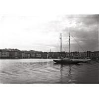 le port de St Tropez en 1920