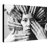 Impression photo sur toile, Les mains et la Belle, par la photographe Sylwia bernat