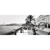Impression photo sur toile, Cannes, la croisette vers 1905