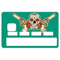 Stickers décoratif pour carte bancaire,   BANDIDA , crée par le DgedeNice