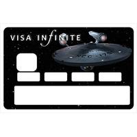 Sticker pour carte bancaire, VISA INFINITE et au dela