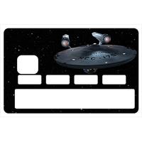 Sticker pour carte bancaire, Star trek enterprise